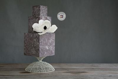 (almost) 50 Cakes of Grey - Androgyny  - Cake by Nikita Mahmood