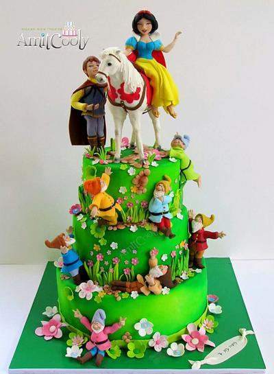 Snow White Cake - Cake by Nili Limor