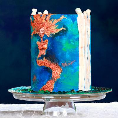 Caker buddies collaboration-The Siren song - Cake by TheCakeTalk