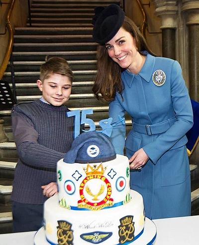 Air Cadets 75th Anniversary Cake - Cake by Cakes By Heather Jane
