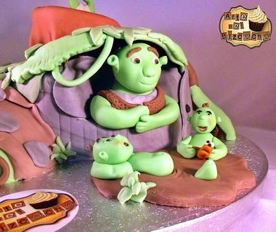 shrek - Cake by jose