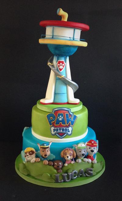 Paw patrol - Cake by Cristina Sbuelz