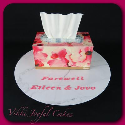 Tissue box cake - Cake by Vikki Joyful Cakes