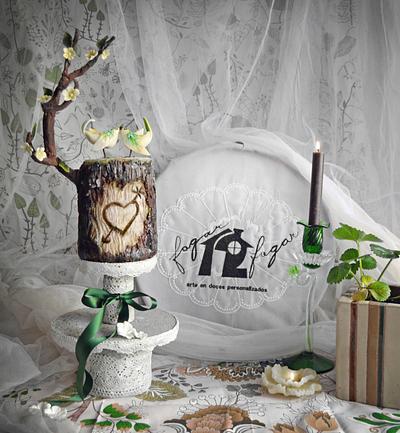 Love's nest - Cake by Daniel Diéguez