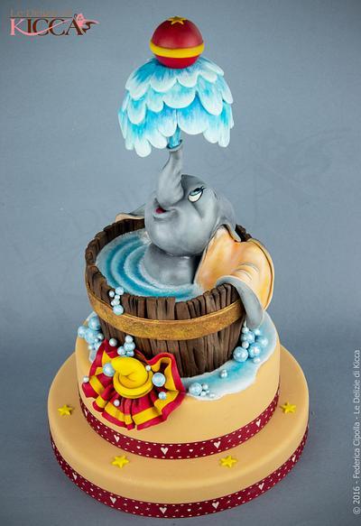 Dumbo - Cake by  Le delizie di Kicca