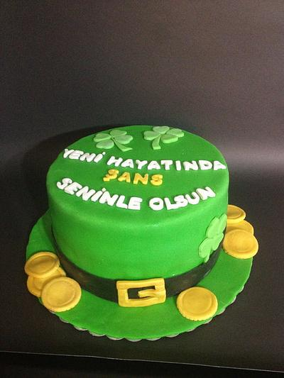 Luck Of the Irish Cake - Cake by PastaLaVistaCakes