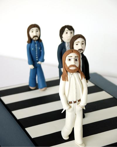The Beatles Cake - Cake by Leah Jeffery- Cake Me To Your Party