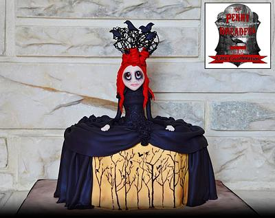 Gothic Girl - Cake by Jeana Millan