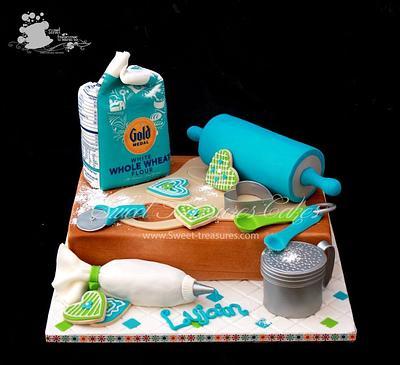 Baker's Love - Cake by Sweet Treasures (Ann)
