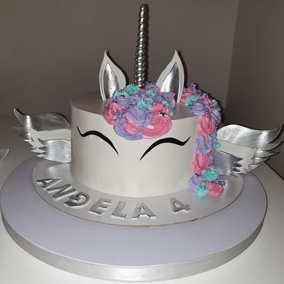 Unicorn cake - Cake by TORTESANJAVISEGRAD