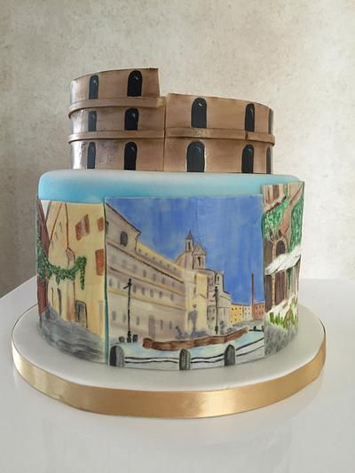 Rome - Cake by Thesugarboxcakeco