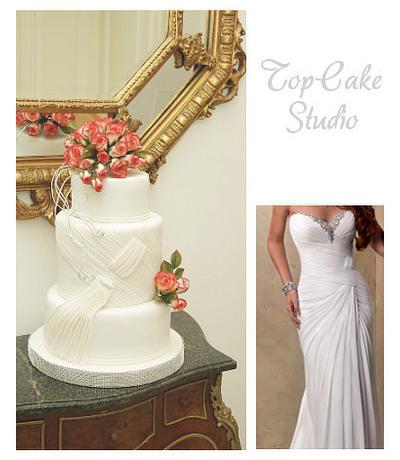 wedding cake - Cake by TopCake Studio