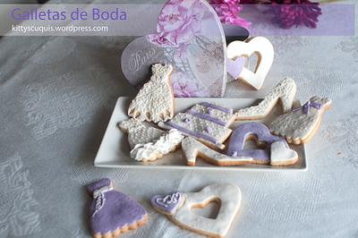 Wedding Cookies - Cake by Kittyscuquis