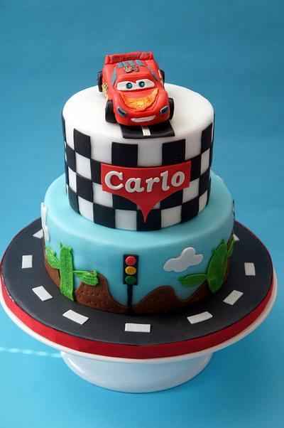lightning Mcqueen for little Carlo - Cake by Alessandra