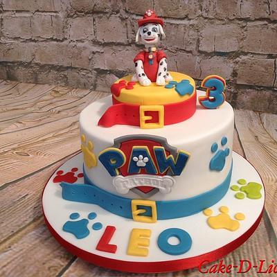Paw Patrol - Cake by Sweet Lakes Cakes