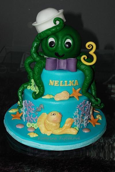 octopus cake - Cake by katarina139