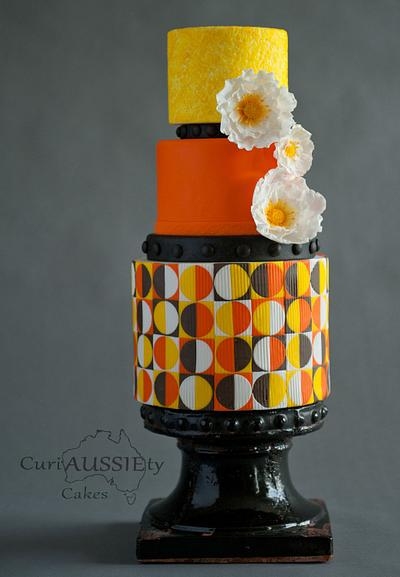 Retro Wedding cake - DIY wedding magazine - Cake by CuriAUSSIEty  Cakes