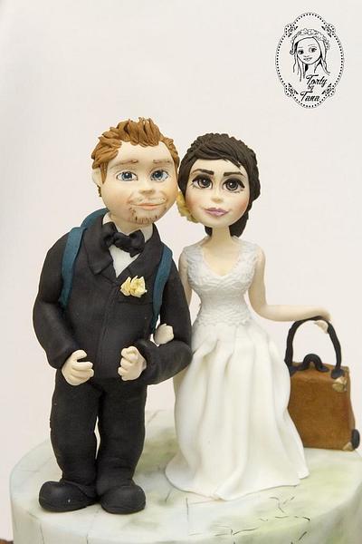 wedding cake  - Cake by grasie