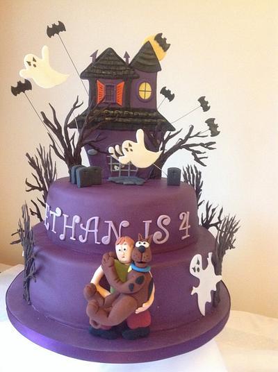 Scooby Dooby dooooooooo...... - Cake by Alana Lily Chocolates & Cakes