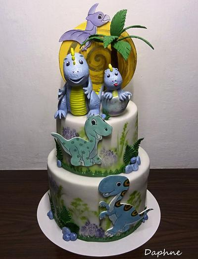 Dinosaurus  - Cake by Daphne