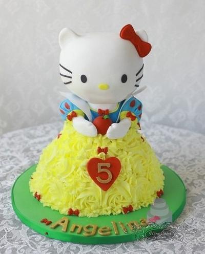 Hello Kitty as Snow White - Cake by Sonia Huebert