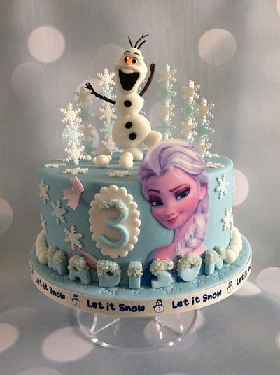 And the choice was Frozen, Frozen or Frozen..... - Cake by Judy