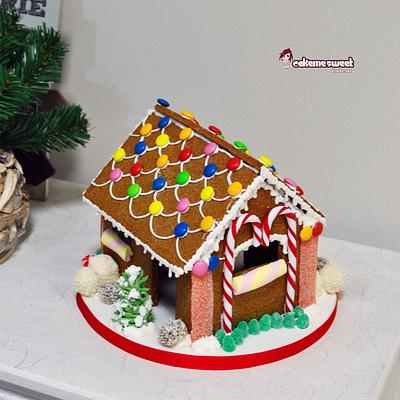 Gingerbread house - Cake by Naike Lanza