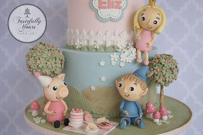Peppa's picnic party - Cake by Marianne: Tastefully Yours Cake Art