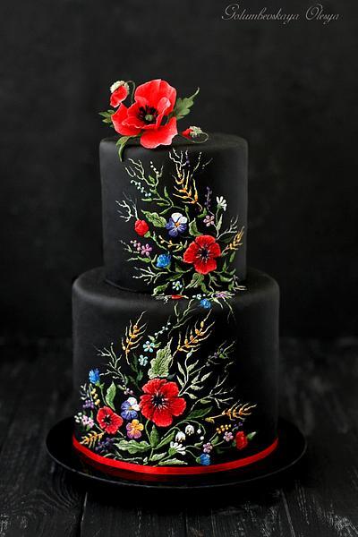 Ukrainian style cake - Cake by Golumbevskaya Olesya