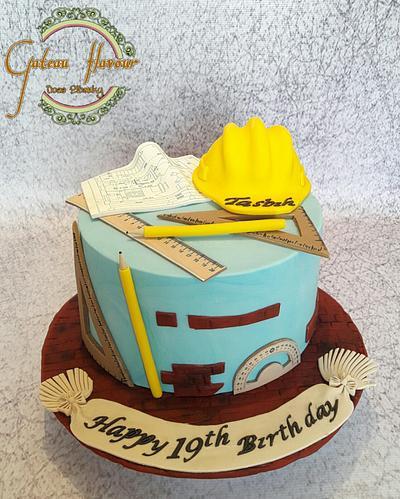 Cake engineer  - Cake by Doaa elbarky