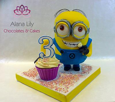 Finally......My first Minion Cake - Cake by Alana Lily Chocolates & Cakes