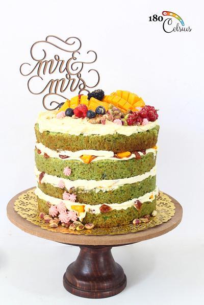Naked Wedding Cake  - Cake by Joonie Tan