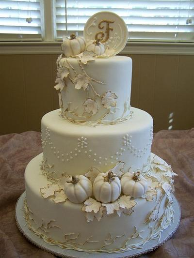 Pretty Pumpkins - Cake by Theresa