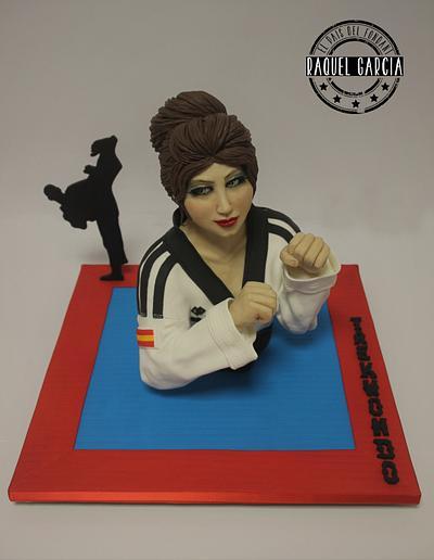 """TAEKWONDO """"SPORT CAKES FOR PEACE"""" - Cake by Raquel García"""