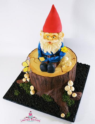 Garden Gnome - Cake by Jeana Millan