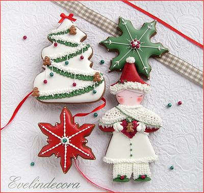 Christmas cookies - Cake by Evelindecora