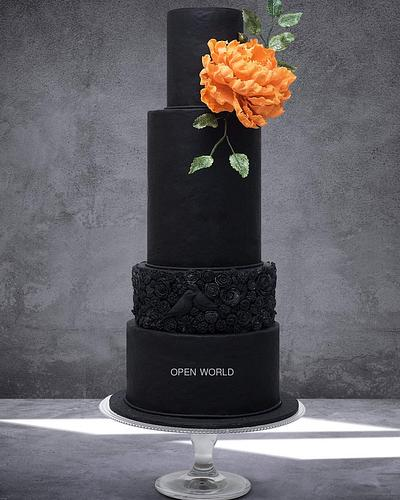 Stunning cake - Cake by Seema Bagaria