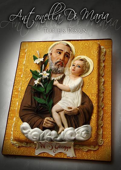 St Joseph's cake - Cake by Antonella Di Maria