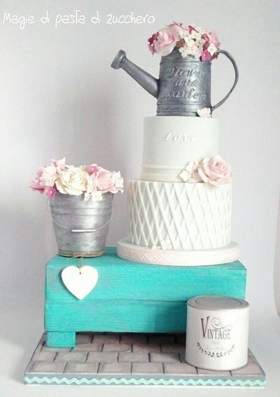 Shabby cake - Cake by Mariana Frascella