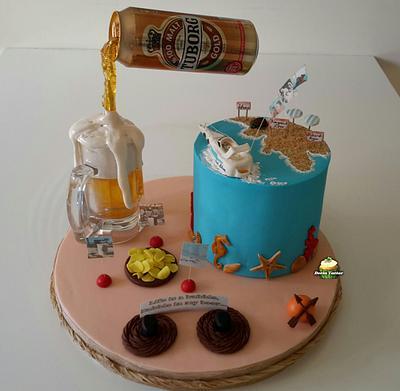 Summer Cake - Cake by Derin Tatlar
