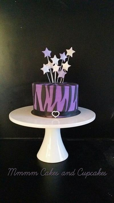 simple zebra! - Cake by Mmmm cakes and cupcakes
