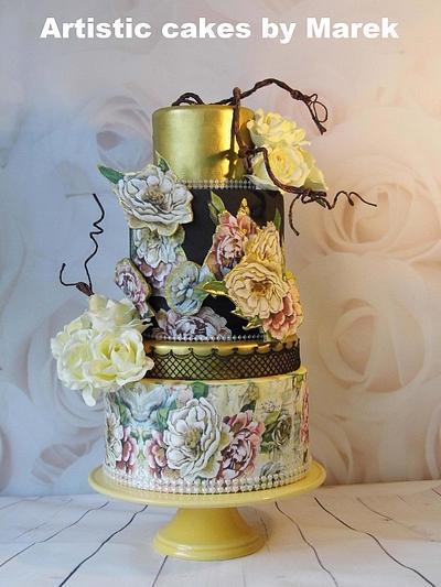 Wedding cakes - Cake by Marek