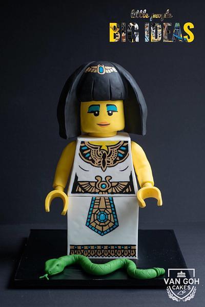 LEGO Egyptian Queen - Cake by Van Goh Cakes