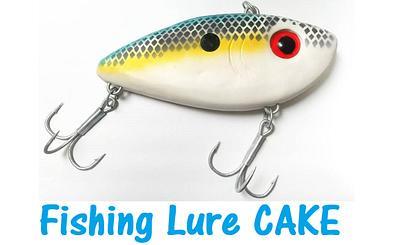 Fishing Lure Cake - Cake by Otchcakes