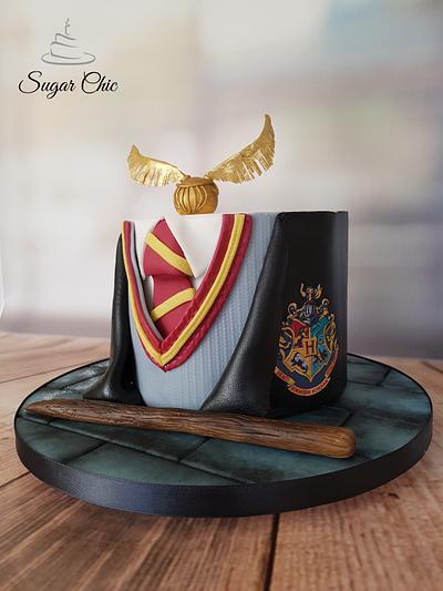 Harry Potter Uniform Cake - Cake by Sugar Chic