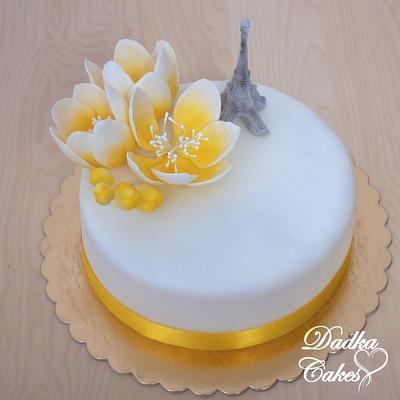 Paris - Cake by Dadka Cakes
