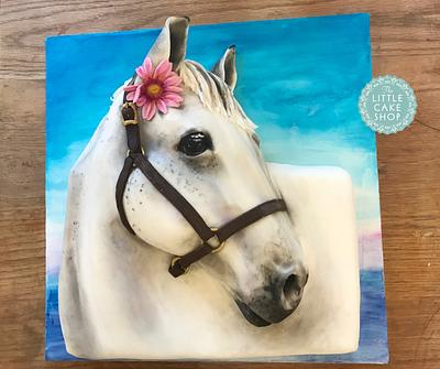 Large 3D Horse Cake - Cake by Dominique Ballard