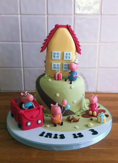Peppa Pig Birthday Cake - Cake by Happy_Food