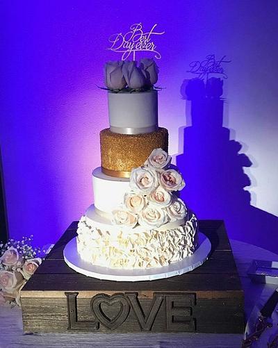 Wedding Cake - Cake by Rosa