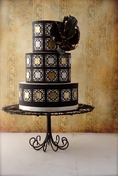 black~n~gold - Cake by Cake Heart
